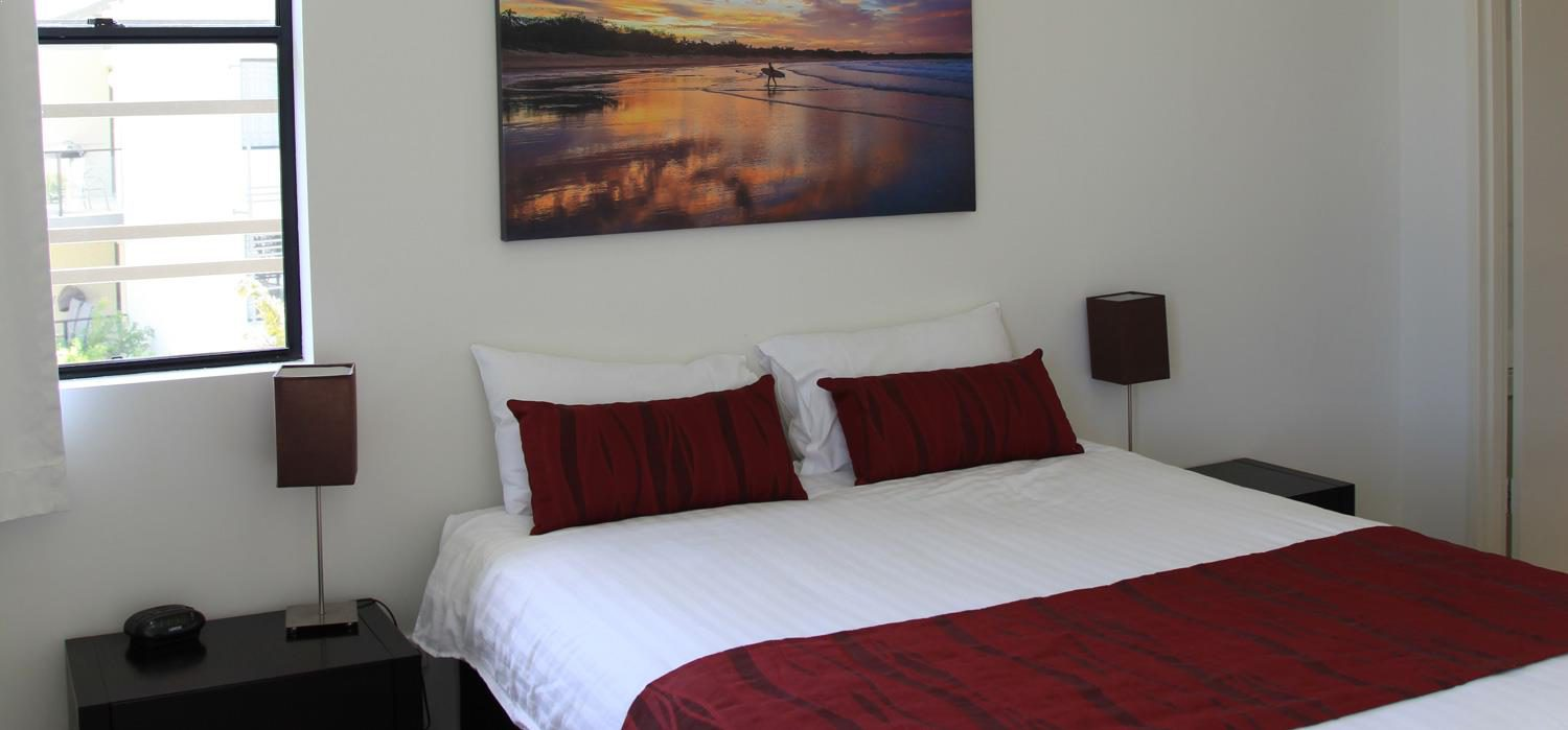 first-bedroom   Agnes Water Beach Club