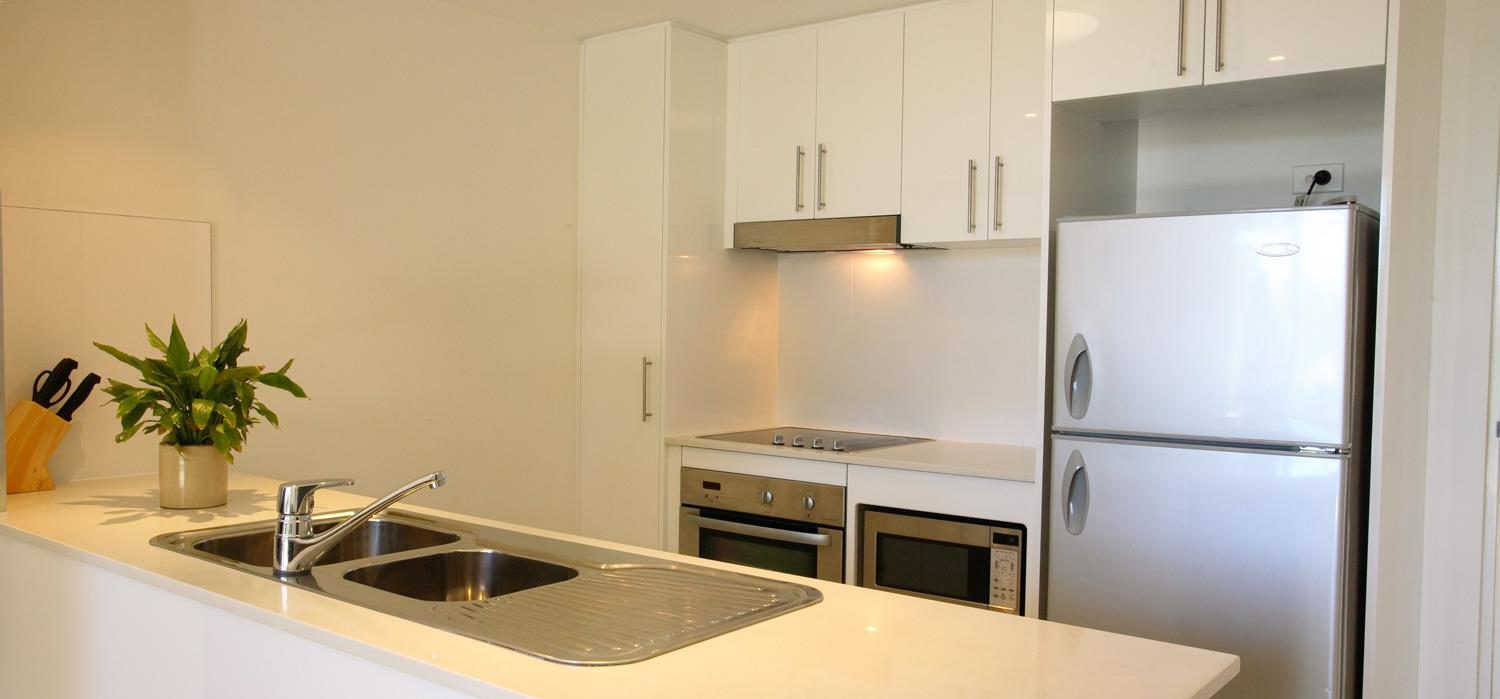 one-bedroom-kitchen | Agnes Water Beach Club
