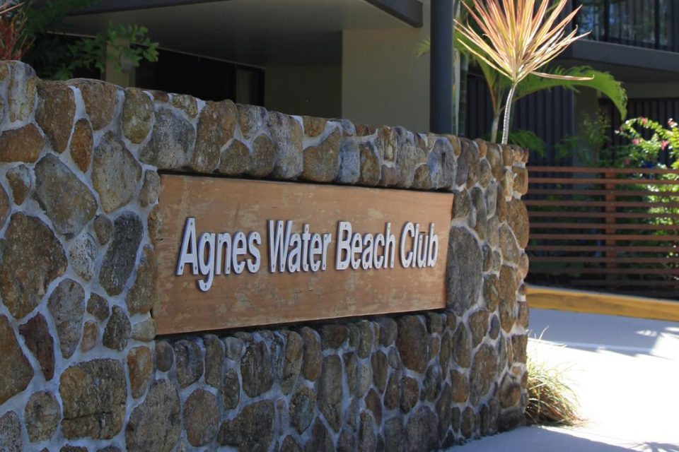 sign | Agnes Water Beach Club