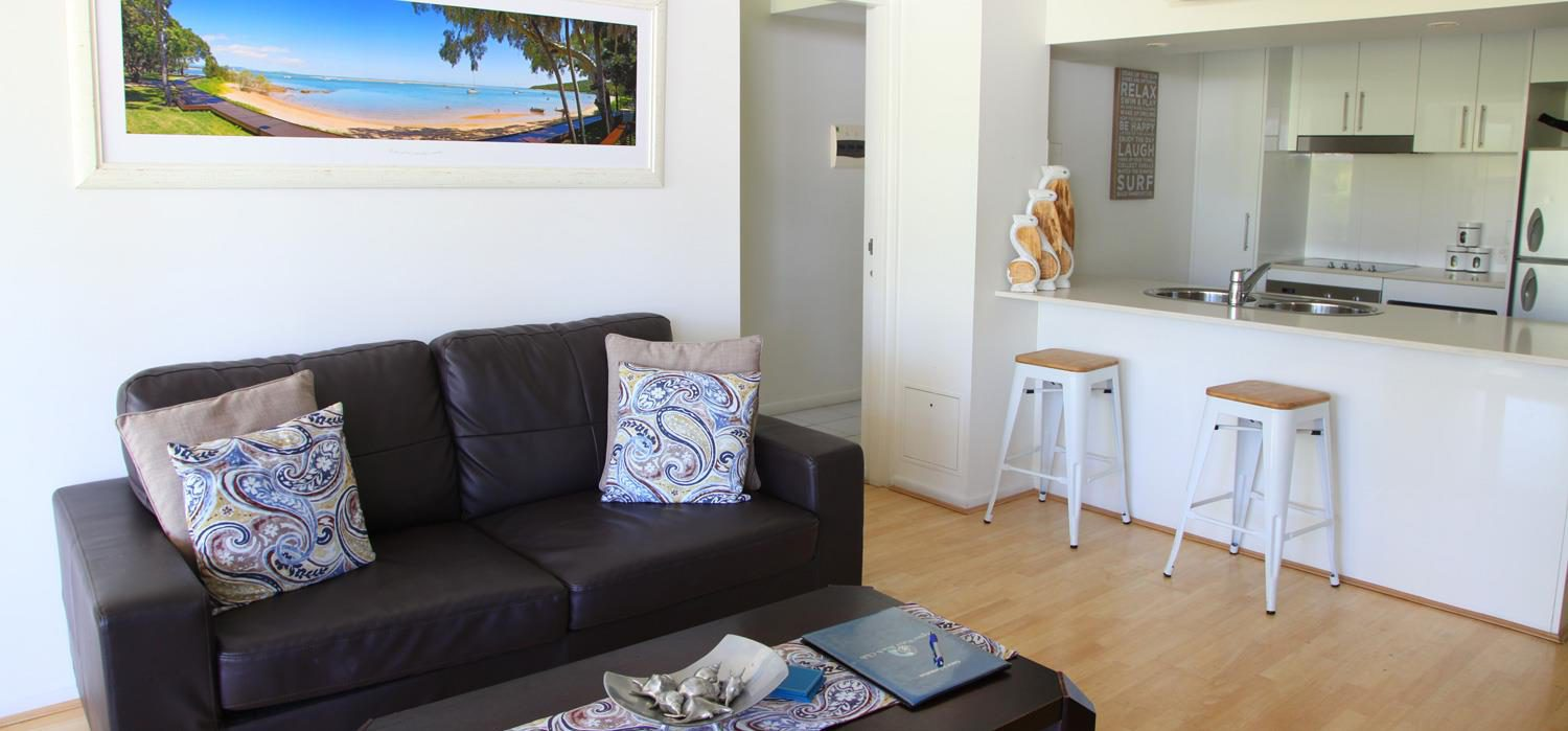 two-bedroom-lounge | Agnes Water Beach Club